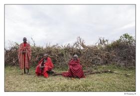 Chef de village Masaï